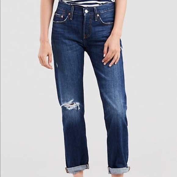 65bc4958 Levi's Jeans   Levis 501s Taper Ct Button Fly Cropped   Poshmark